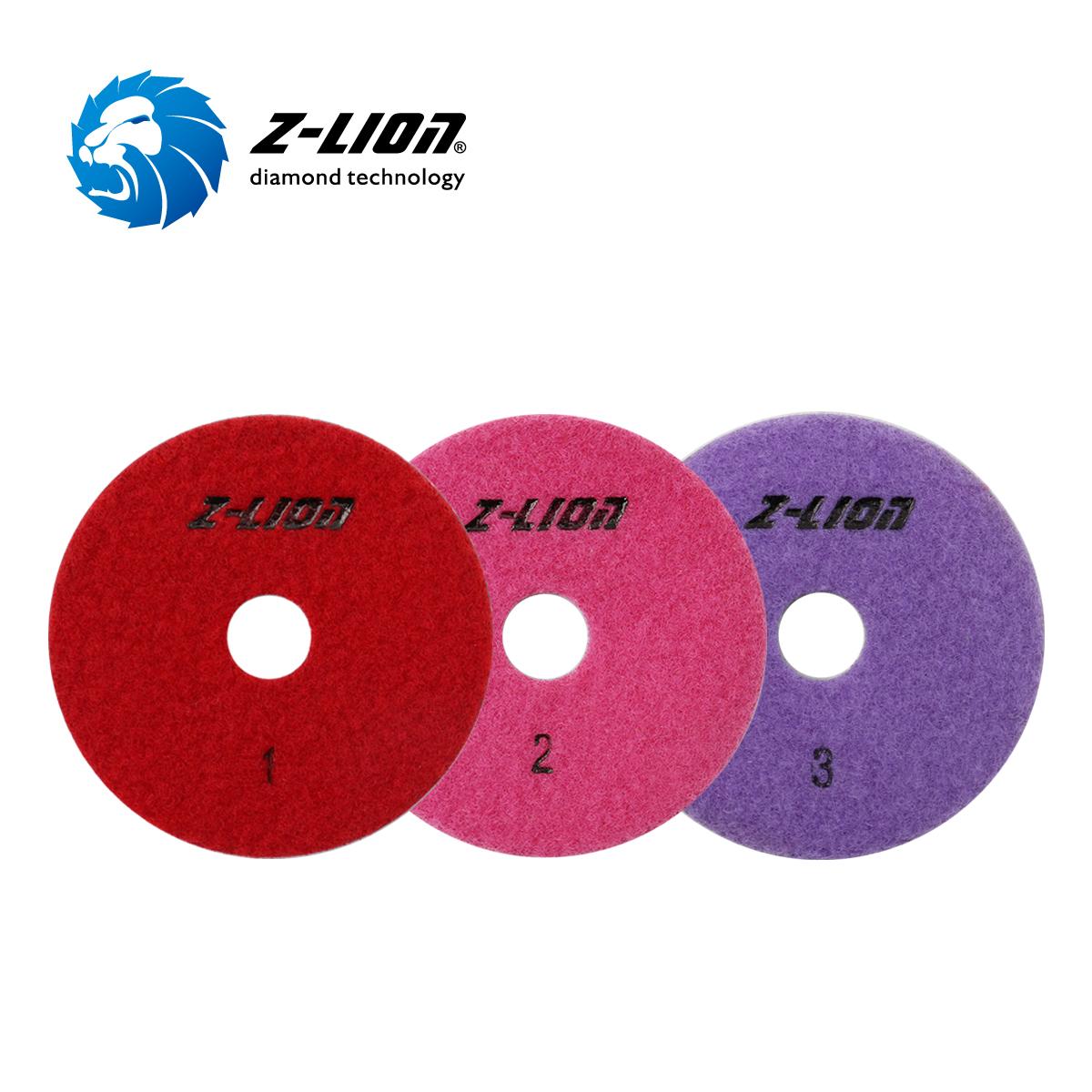 ZL-123G 3 Steps Wet Polishing Pad