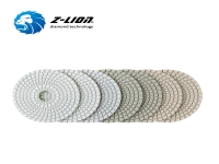ZL-123CW White Polishing Pads